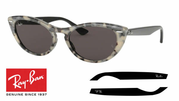 Original Ray-Ban 4314 Nina Replacement Arms-Temples