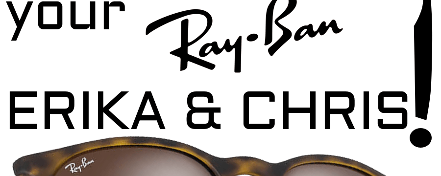 Ray-Ban RB4171 Erika and RB4187 Chris Lens Replacement & Installation Instructions