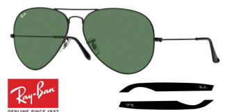 Patillas-Varillas Ray-Ban 3026 Originales