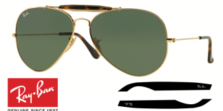 Patillas-Varillas Ray-Ban 3029 Originales
