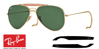 Patillas-Varillas Ray-Ban 3030 Originales