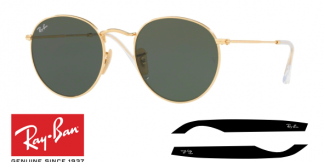 Patillas-Varillas Ray-Ban 3447N Originales
