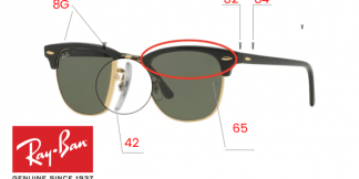 Ray-Ban 3016 Clubmaster Replacement Parts