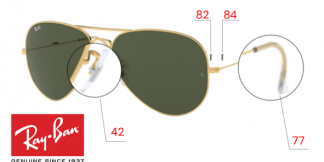 Ray-Ban 3026 Replacement Parts