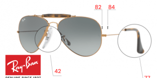 Ray-Ban 3029 Replacement Parts