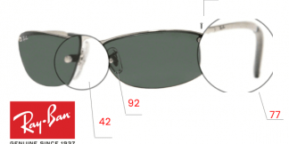 Ray-Ban 3179 Replacement Parts