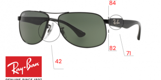 Ray-Ban 3502 Replacement Parts