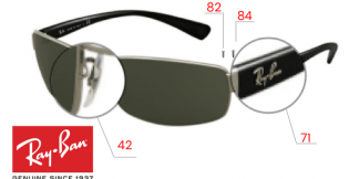 Ray-Ban 3364 Replacement Parts