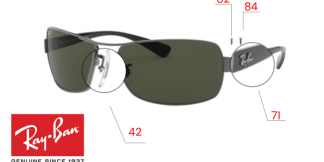 Ray-Ban 3379 Replacement Parts