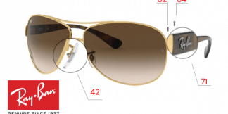 Ray-Ban 3386 Replacement Parts