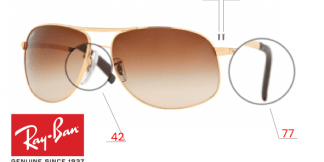 Ray-Ban 3387 Replacement Parts