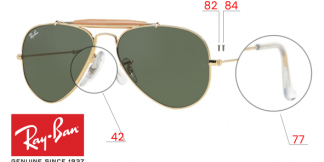 Ray-Ban 3407 Replacement Parts