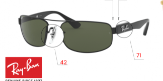 Ray-Ban 3445 Replacement Parts