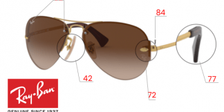 Ray-Ban 3449 Replacement Parts