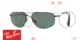 Ray-Ban 3490 Replacement Parts