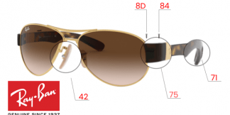 Ray-Ban 3509 Replacement Parts