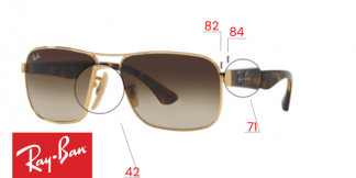 Ray-Ban 3516 Replacement Parts