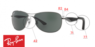 Ray-Ban 3519 Replacement Parts