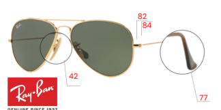 Ray-Ban 8041 Replacement parts