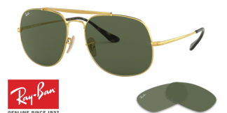 Lentes / Cristales Recambio Ray-Ban 3561 The General Originales