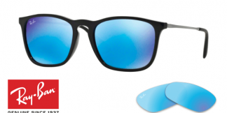 Ray-Ban 4187 CHRIS Replacement Lenses