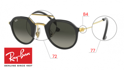 Original Ray-Ban 4253 Replacement parts