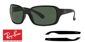 Patillas-Varillas Ray-Ban 4068 Originales
