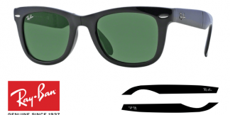 Patillas-Varillas Ray-Ban 4105 FOLDING WAYFARER Originales
