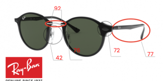 Ray-Ban 4242 Replacement parts