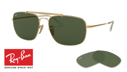 Original Ray-Ban 3560 The Colonel Replacement Lenses