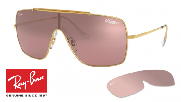 Ray-Ban 3697 Wings II Replacement Lenses