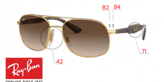 Ray-Ban 3593 Replacement Parts