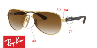 Ray-Ban 8313 Replacement parts