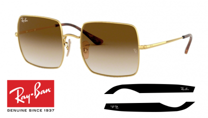 Original Ray-Ban 1971 SQUARE Replacement Arms-Temples