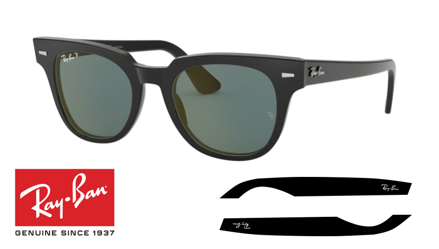 Original Ray Ban 2169 Meteor Replacement Arms Temples