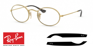 Original Ray-Ban Prescription 3547V Replacement Arms-Temples