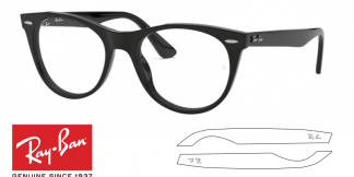 Ray-Ban Eyeglasses 2185V Original Replacement Arms-Temples