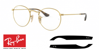 Original Ray-Ban Prescription 3447V Replacement Arms-Temples