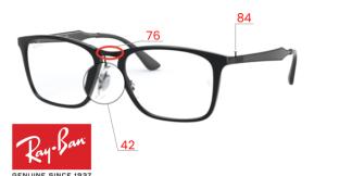 Ray-Ban 7131 Original Eyeglasses Replacement Parts