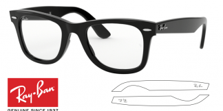 Ray-Ban 4340V Original Eyeglasses Replacement Arms-Temples