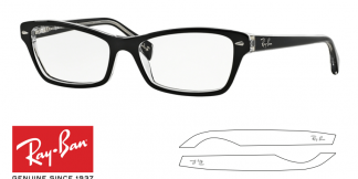 Ray-Ban 5256 Original Eyeglasses Replacement Arms-Temples