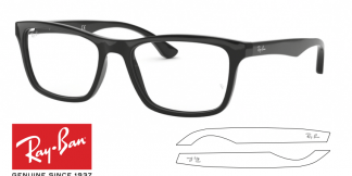 Ray-Ban 5279 Original Eyeglasses Replacement Arms-Temples
