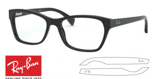 Ray-Ban 5298 Original Eyeglasses Replacement Arms-Temples