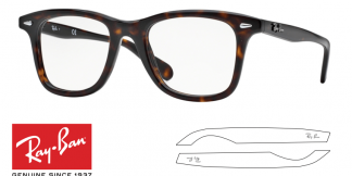 Ray-Ban 5317 Original Eyeglasses Replacement Arms-Temples