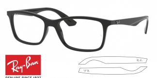 Original Ray-Ban Eyeglasses 7047 Replacement Arms-Temples