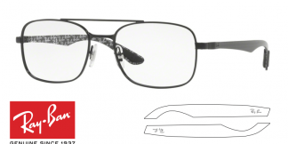 Ray-Ban 8417 Replacement Arms-Temples