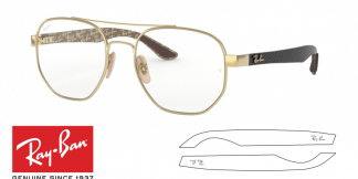 Ray-Ban 8418 Replacement Arms-Temples