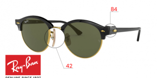 Ray-Ban 4246 CLUBROUND Replacement Parts