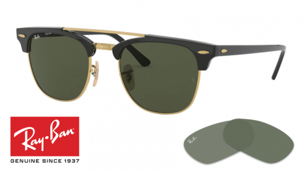 With your order you will receive the Ray-Ban Replacement Lenses kit: 2 Lenses (right and left) New and Genuine Product. 2 years warranty. With Engraved Logo. We are Ray-Ban Certified Sellers. All items are 100% original.