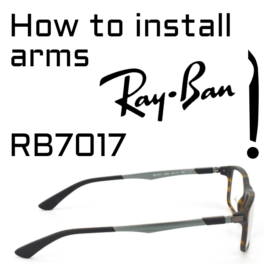 How to change arms RB7017
